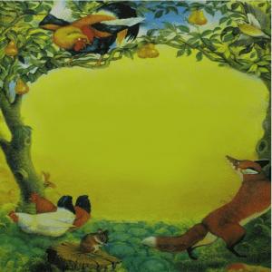 قصه جذاب و شنیدنی روباه در مزرعه کلم