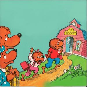 قصه ی جذاب و شنیدنی خرس کوچولوها به مدرسه می روند